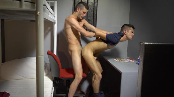 The Corrections Officer Takes it Deep in his Ass with Emilio Segura